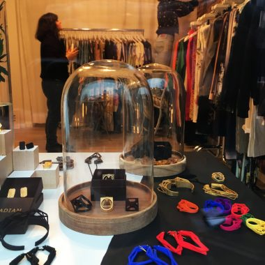 RADIAN | 3d printed jewelry at Sahra Tehrani Fashion in Hamburg