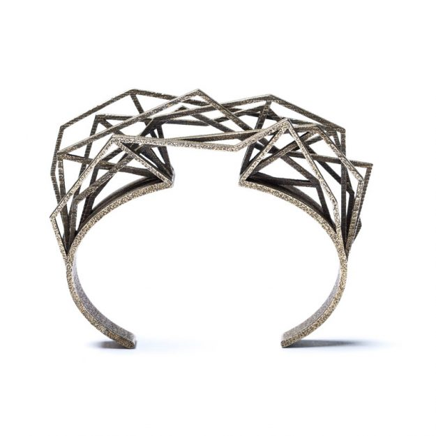 NITZ & SCHIECK | Solitaire bracelet, 3d printed stainless steel