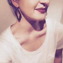 RADIAN | Solitaire earrings, 3d printed nylon
