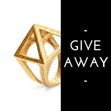 RADIAN X BELMODO BELGIUM | Win a 3D printed pyramid ring!