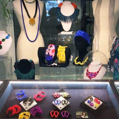 RADIAN | 3d printed jewelry at 107 rivoli museum store Paris, Musée des Arts Décoratifs