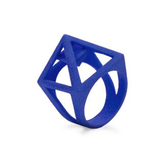 RADIAN | Nefertiti ring, 3d printed nylon